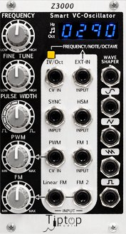 Eurorack Module Z3000 Smart VCO MKII from Tiptop Audio
