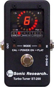 Pedals Module Turbo Tuner ST-200 from Sonic Research