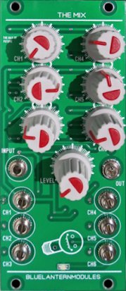 Eurorack Module The Mix from Blue Lantern Modules