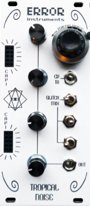 Eurorack Module Tropical Noise (white edition) from Error Instruments