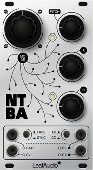 Eurorack Module NTBA (Noise to Brain Adapter) from LeafAudio