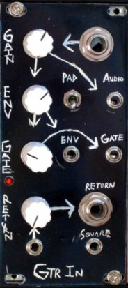 Eurorack Module Guitar Input from Barton Musical Circuits