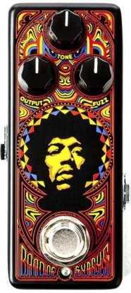 Pedals Module Band of Gypsys Fuzz Face Mini from Dunlop
