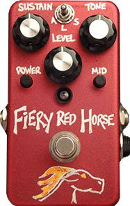 Pedals Module Fiery Red Horse fuzz  from VFE