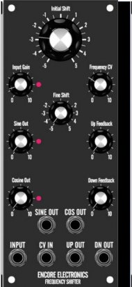 MU Module MOTM - Freq Shift from Encore Electronics