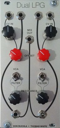Eurorack Module Thomas White Dual Resonant Lopass Gate from Other/unknown
