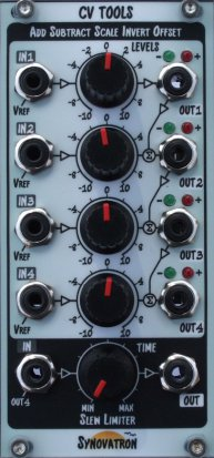 Eurorack Module CV Tools from Synovatron