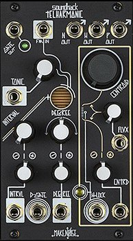 Eurorack Module Telharmonic (Black and Gold) from Make Noise