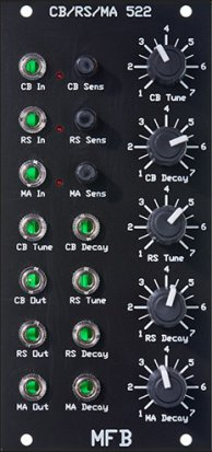 Eurorack Module CB / RS / MA 522 from MFB