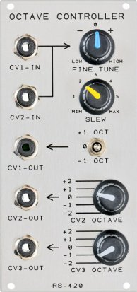 Eurorack Module RS-420 Octave Controller from Analogue Systems