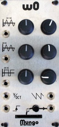 Eurorack Module w0 from Mungo Enterprises