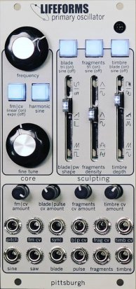 Eurorack Module Lifeforms Primary Oscillator from Pittsburgh Modular