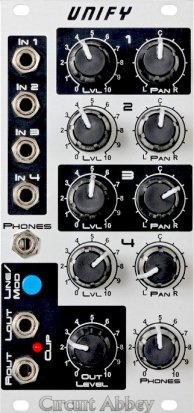 Eurorack Module Unify from Circuit Abbey