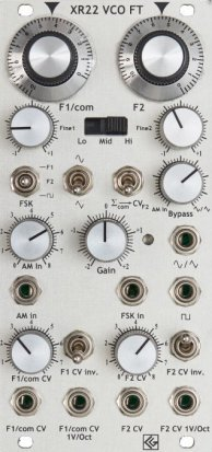 Eurorack Module XR22 VCO FT from CG Products