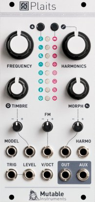 Eurorack Module Plaits from Mutable instruments