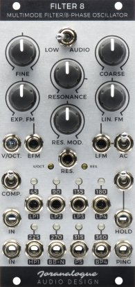 Eurorack Module Filter 8 from Joranalogue Audio Design