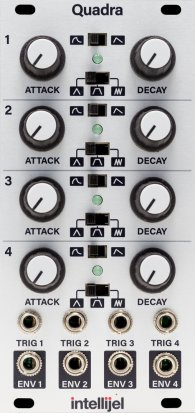 Eurorack Module Quadra from Intellijel