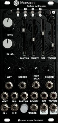 Eurorack Module Monsoon - Magpie black panel from Other/unknown