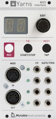 Eurorack Module Yarns from Mutable instruments