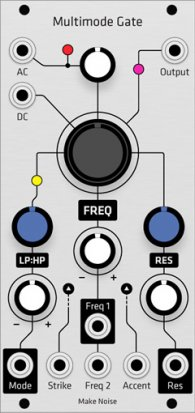 Eurorack Module Make Noise MMG Multimode Gate (Grayscale panel) from Grayscale