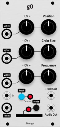Eurorack Module Mungo g0 (Grayscale panel) from Grayscale