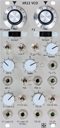 Eurorack Module XR22 VCO from CG Products