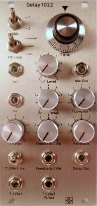 Eurorack Module Delay1022 v2 from CG Products