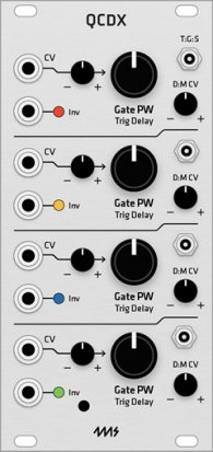 Eurorack Module 4ms QCD Expander (Grayscale panel) from Grayscale