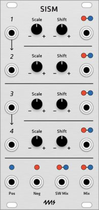 Eurorack Module 4ms SISM (Grayscale panel) from Grayscale