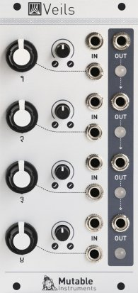 Eurorack Module Veils from Mutable instruments