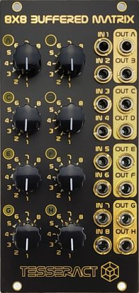 Eurorack Module 8x8 Buffered Matrix from Tesseract Modular