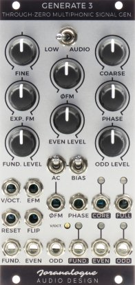 Eurorack Module Generate 3 from Joranalogue Audio Design