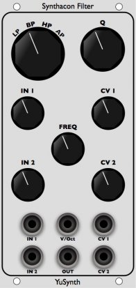 Eurorack Module Synthacon Filter - YuSynth from Other/unknown