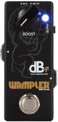 Pedals Module dB+ V2 Buffer / Clean Boost Pedal from Wampler