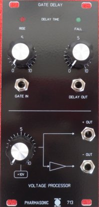 Eurorack Module SYS-700 Gate Delay 713 from Pharmasonic