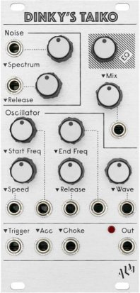 Eurorack Module ALM005 - Dinky's Taiko from ALM Busy Circuits