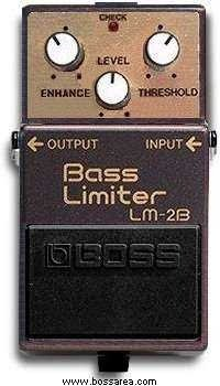 Pedals Module LM-2B Bass Limiter from Boss