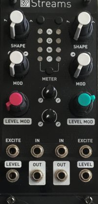 Eurorack Module Streams Magpie plate from Other/unknown
