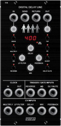 MU Module FSFX 114 Digital Delay Line from Free State FX