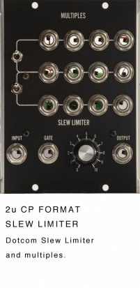 MU Module Slew Limiter and Multiples from Jeremy Sharp