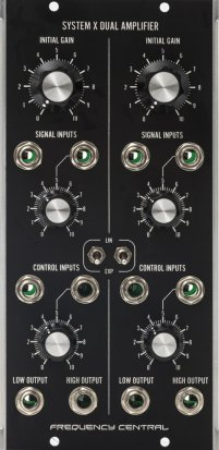 MU Module System X Dual VCA from Frequency Central