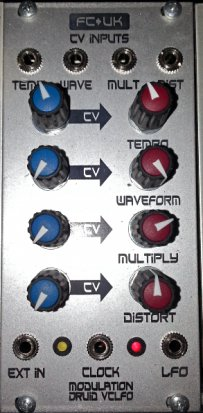 Eurorack Module Modulation Druid (complex) from Frequency Central