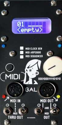 Eurorack Module Midigal 12hp Midi Module from Other/unknown