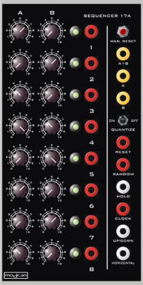 Modcan A Module Sequencer 17A from Modcan