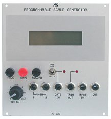 Analogue Systems RS-130 Programmable Scale Generator