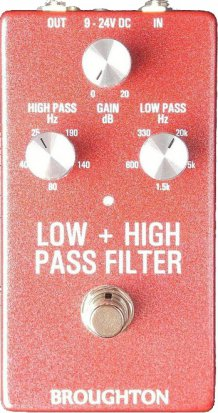 Pedals Module BROUGHTON Low + High Pass Filter from Other/unknown