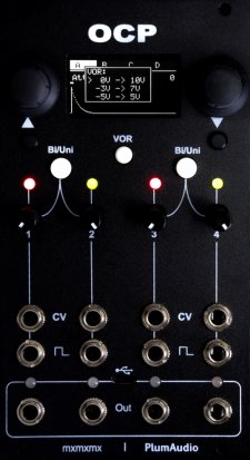 Eurorack Module OCP - Ornament and Crime Plus from Plum Audio