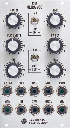 Eurorack Module E300 Ultra VCO from Synthesis Technology