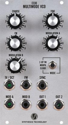 Eurorack Module E330 Multimode VCO from Synthesis Technology