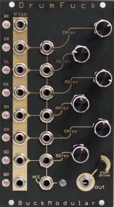 Eurorack Module Buck Modular DrumFuck from Other/unknown